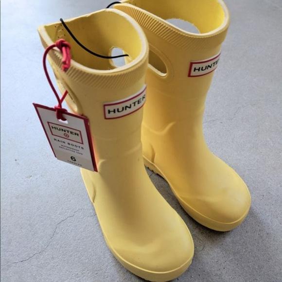39af7ecc7cd NWOT Hunter rain boots Toddler size 6
